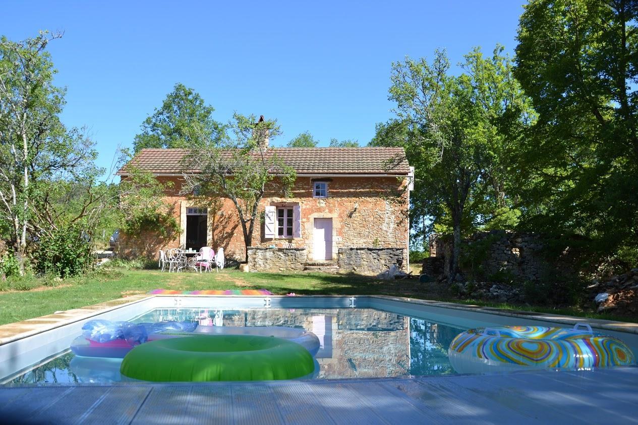 Location maison  avec piscine chauffée proche Daglan